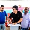 Prefeito Adriano assina ordem de serviço para pavimentar ruas na Rodagem