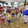 Secretaria de Educação reforça parceria com a PM por meio de evento alusivo ao Dia da Criança